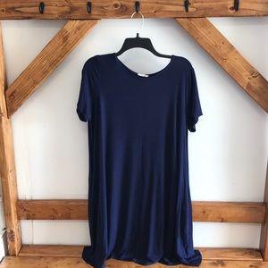 Navy Bamboo Dress